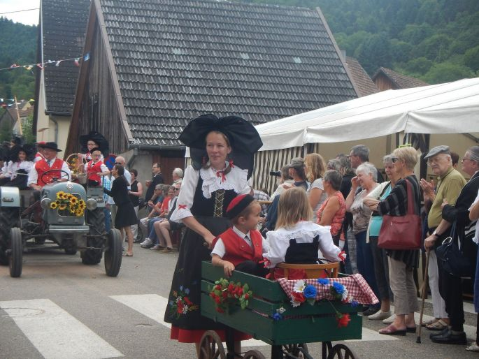 Fête paysanne à Griesbach au Val