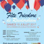 Fête Tricolore 2017 à Raedersheim
