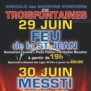 Feux de la Saint Jean et Messti de Troisfontaines 2019