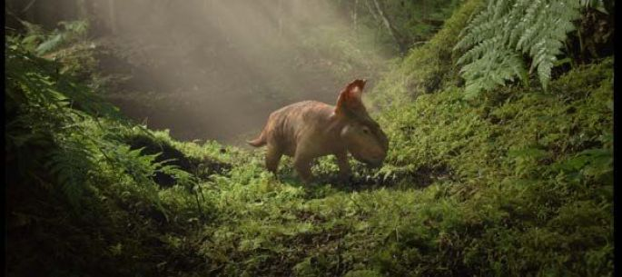 Film 3D : Sur la terre des dinosaures