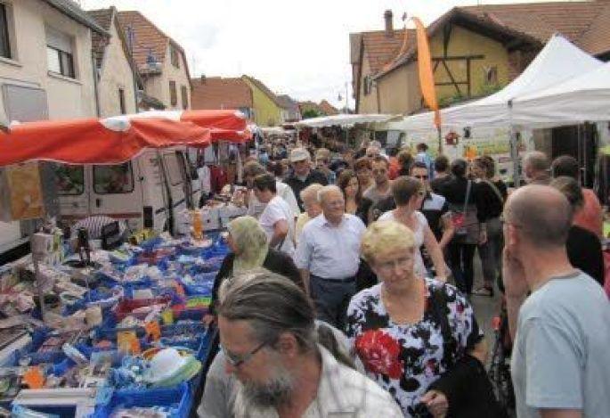 Foire annuelle, braderie et puces à Dorlisheim 2018