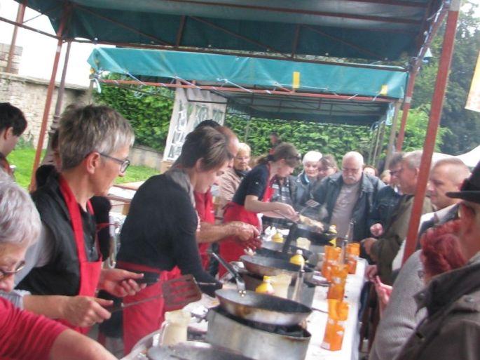 Foire aux Beignets de Cerises à Fougerolles