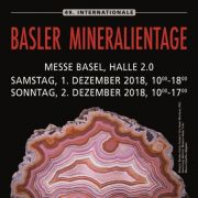Foire aux Fossiles et Minéraux de Bâle 2018