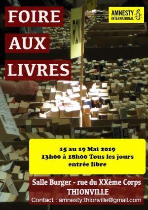 Foire aux livres de Thionville 2019