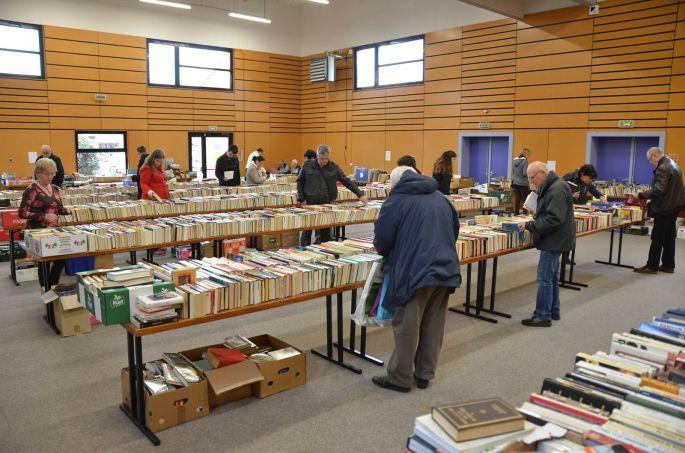 Foire aux «Livres pour tous» à Brunstatt