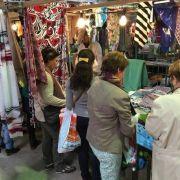 Le Marché du Tissu à Metz
