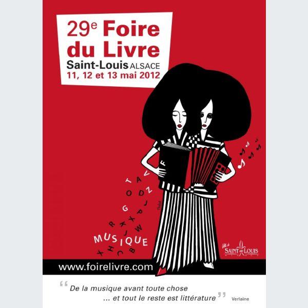 Foire du livre de saint louis 2012 horaires programme infos - Salon du livre de saint louis ...