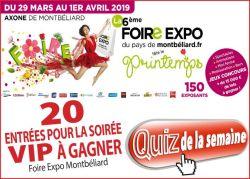 Foire du Pays de Montbéliard 2019