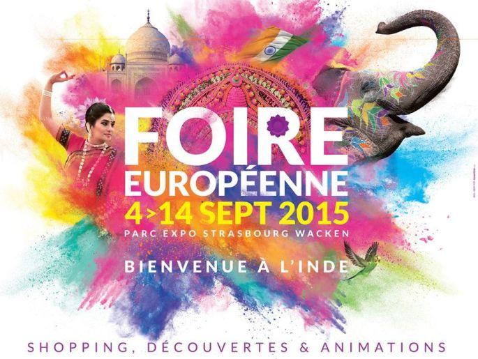 L\'Inde est à l\'honneur de la Foire Europ\' 2015