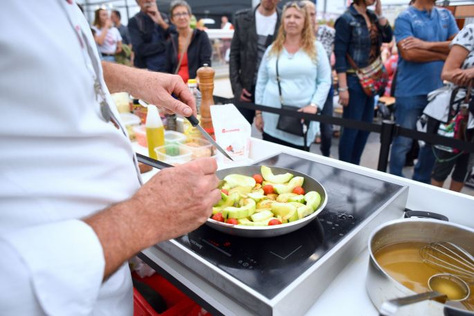 Des démonstrations culinaires à la Foire européenne de Strasbourg