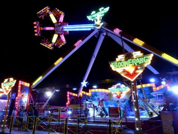 Le Boomerang, l\'une des attractions phares de la Foire Saint Jean de Strasbourg