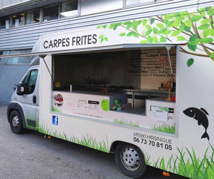 Food truck spécial Carpes-frites d'Alsace!