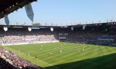 Le stade de la Meinau de Strasbourg où l\'on peut voir les performances du RCS, plus célèbre club d\'Alsace.