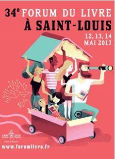 Forum du livre de saint louis 2017 ex foire du livre - Salon du livre de saint louis ...