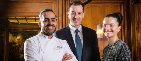 Franck Pelux de Top Chef, nouveau chef du Crocodile