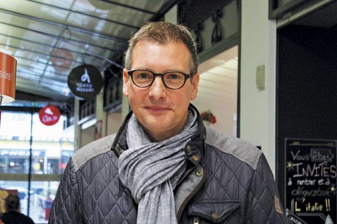 Frédéric Marquet est chargé de dynamiser le commerce mulhousien depuis 2011