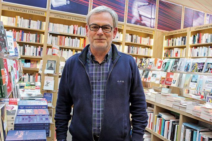 Frédéric Versolato a ouvert la librairie 47° Nord à Mulhouse en 2012