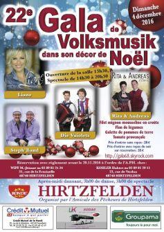 Gala de Noël Volksmusik : Rita & Andréas + Liane + Die Vaiolets + Steph Band