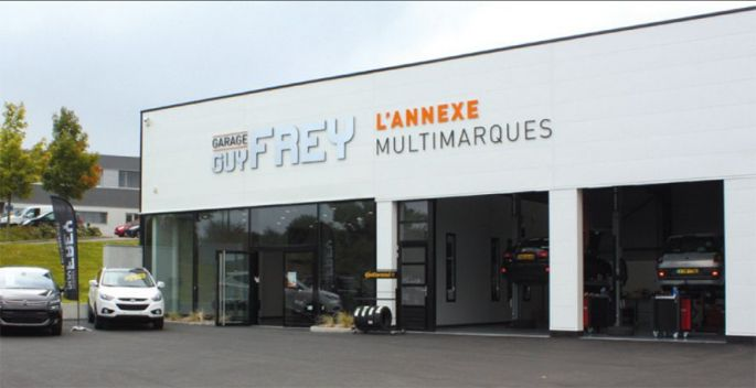 Garage Frey - L\'annexe multimarques