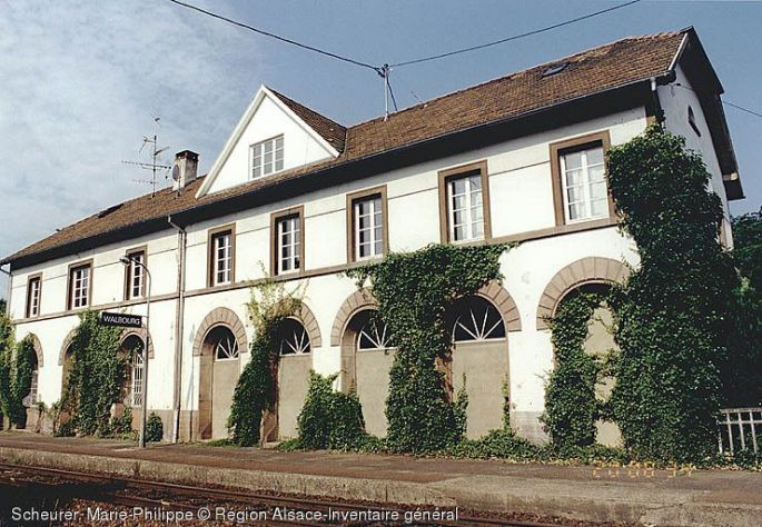 Gare de Walbourg