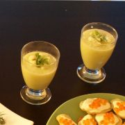 La recette du gaspacho de concombres
