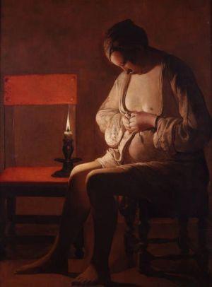 Georges de La Tour et l\'énigme de la Femme à la puce
