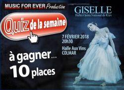 Giselle au Parc Expo de Colmar