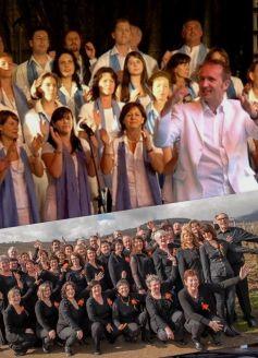 Les Gospel's Rejoicing et le Gospelchor Grenzenlos
