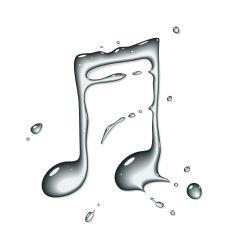 Goutte d\'eau sonore