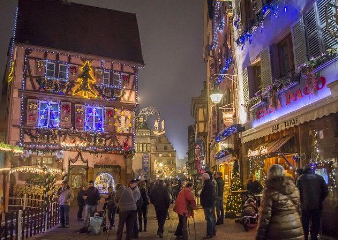 La Grand Rue de Colmar est la plus représentative de l\'ambiance magique de Noël