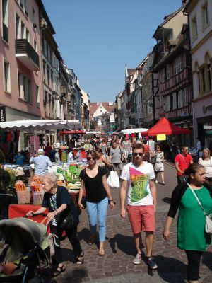 Grande braderie d\'été de Colmar