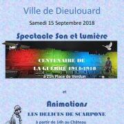 Grande Fête du Centenaire 1914-1918 à Dieulouard
