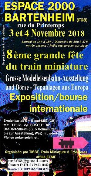 Grande Fête du Train Miniature (8ème édition)