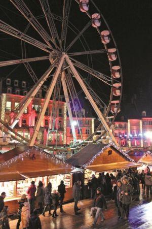 Le Marché de Noël de Mulhouse avec sa Grande Roue