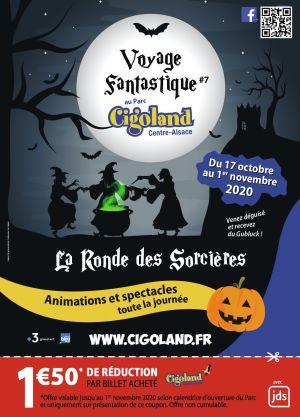 Halloween à Cigoland: La Ronde des sorcières