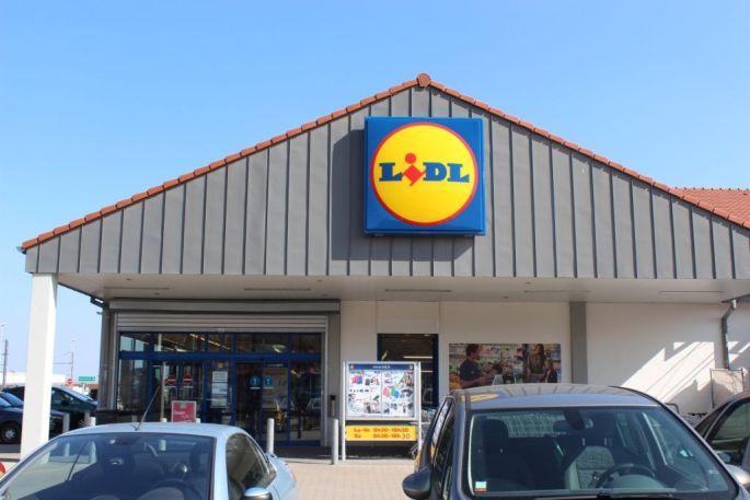 Hard Discount Lidl - Vieux-Thann