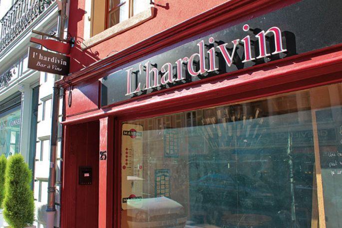 L\'hardivin, un lieu convivial pour déguster de bons vins dans une ambiance agréable