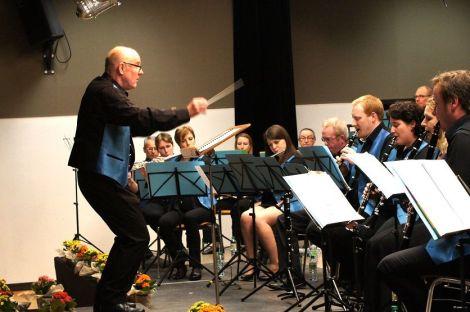 L\'Harmonie Achenheim lors de leur concert annuel en 2013