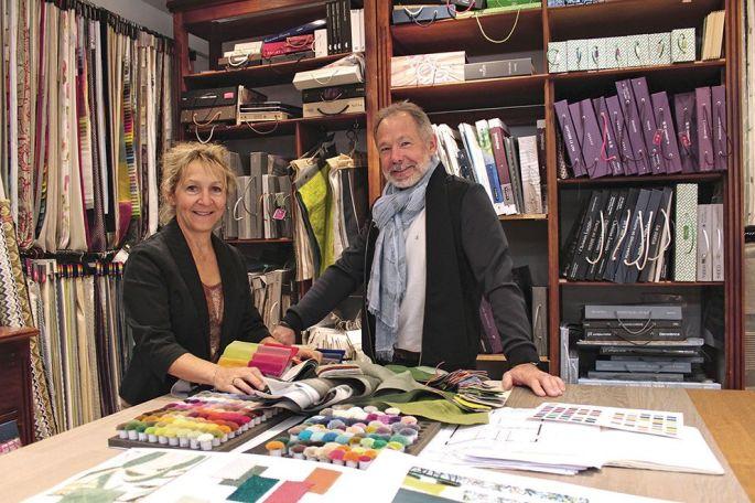 Martine et Bernard Emond, à la tête de Home Décor Capon