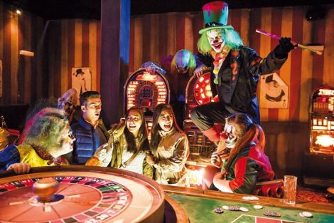 Le Big Shoe Casino et ses clowns malveillants