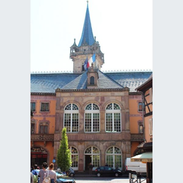H U00f4tel De Ville - Mairie D U0026 39 Obernai