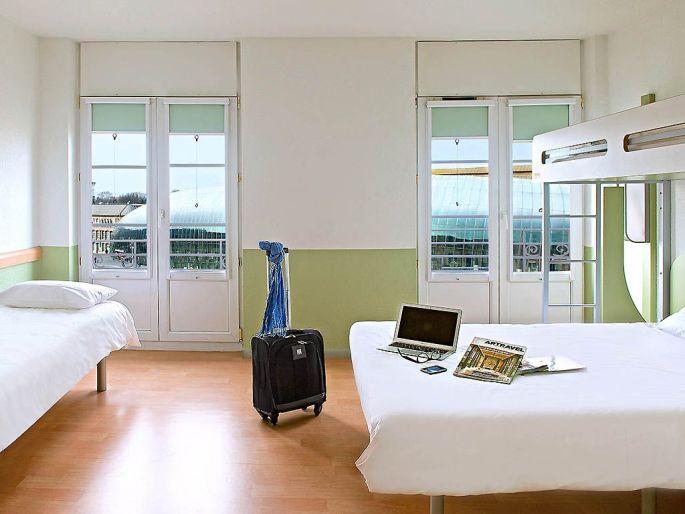 Aperçu d\'une des chambres de l\'Hôtel Ibis Budget