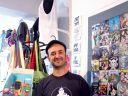 Hugues Baum, graphiste créateur de T-shirt mulhousiens