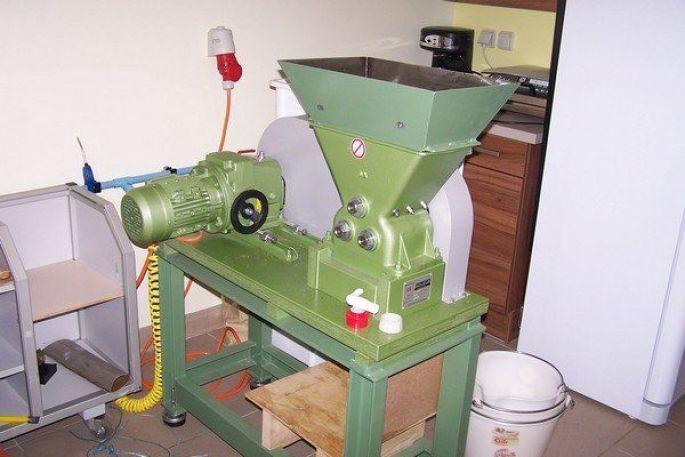 La presse de l\'huilerie artisanale de Wittisheim