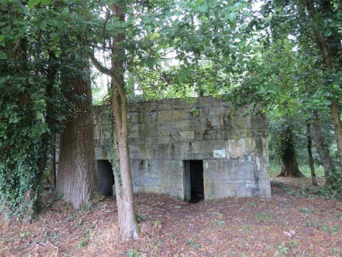 Un bunker allemand à l\'abandon