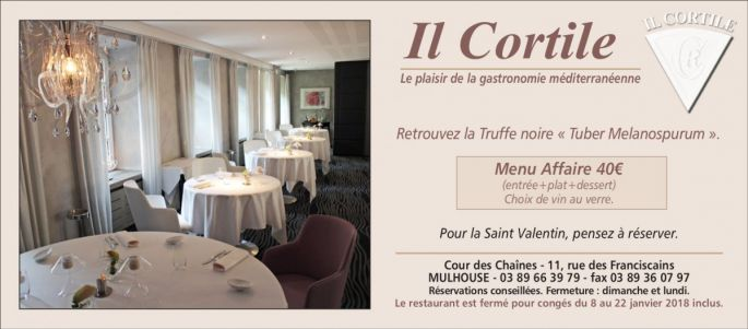 Restaurant Il Cortile *