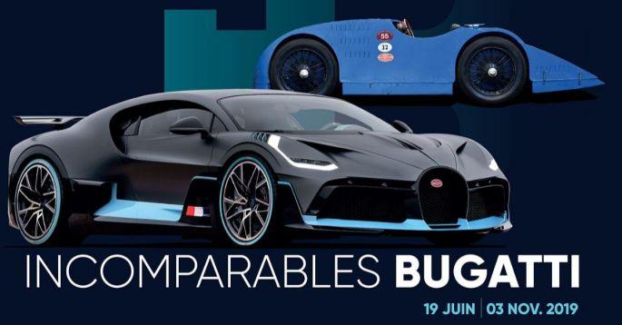 """Découvrir l'exposition """"Incomparables Bugatti"""" à la Cité de l'Automobile de Mulhouse !"""