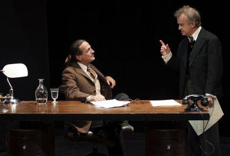 La pièce Inconnu à cette adresse avec Francis Lalanne et Dominique Pinon