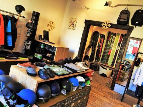 Intérieur de la boutique Snowatt