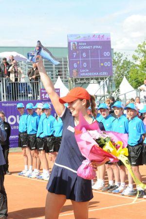 Alizé Cornet, la grande gagnante d\'une des précédentes éditions des Internationaux de Strasbourg
